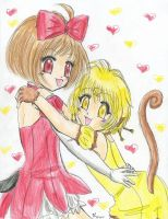 Ringo and Pudding by Tamao