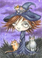 Coven of Cats by KootiesMom