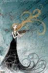 __The violin player__ by Pim-s