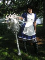 Alice Madness Returns Hobby Horse Prop by AnimeGeer