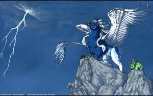 AT: Stormwatching by WhitePhoenix7