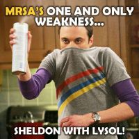 Sheldon Vs. MRSA by themrsa
