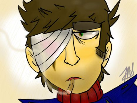Some more Eddsworld, but this time it's Paul by bornadragonsoul