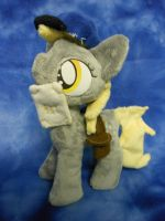 Mlp FiM:Filly Derpy Plush by Tawny0wl