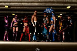 Mortal Kombat friend's group by Kal-Art