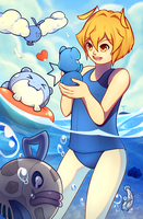 CR x PokeStory : UMI DAAAAaaA by cakwe