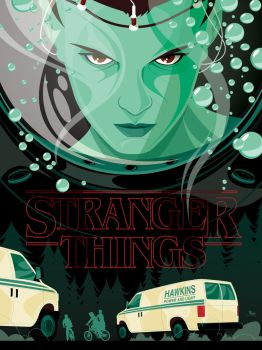 Stranger Things by MikeMahle