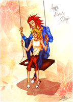 Akuroku day 2012 by x-Lilou-chan-x