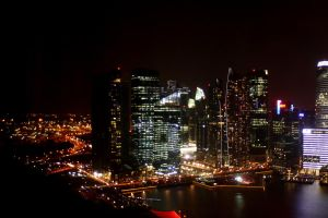 Singapore nighscapes by gohyinghui