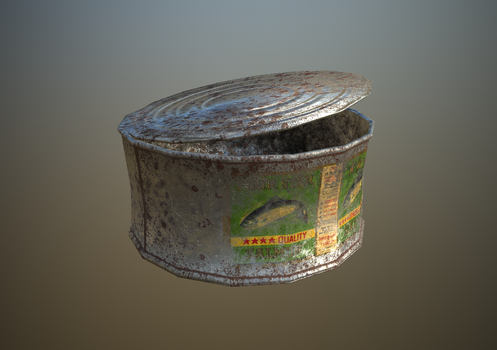 Rusty Tin by Branlougat