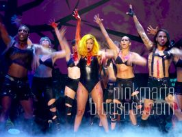 Lady Gaga Monster Ball by pinkmarta182