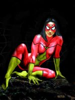 Spider woman by Rene-L