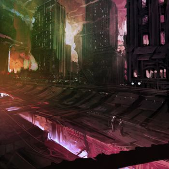 1.5 Hour Speed Paint, Sci Fi 2 by Sarafinconcepts