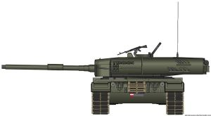 Leopard2A4 by T0RYU