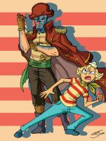 Flapjack Ready for Action by TheSteveYurko