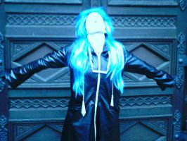 Me as Saix - Cosplay - 02 by LadyNoxia