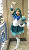 Eternal Sailor Neptune by Ladykanasewing