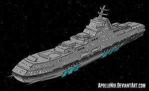 Space Battleship by ApolloNui