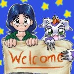 Welcome by thefruitpatch