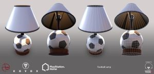 Football Lamp - PSHome by Denuvyer