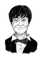 Doctor Who #2 - Patrick Troughton by thecommonwombat