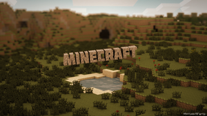 Minecraft Wallpaper (free) by RapidFireArts