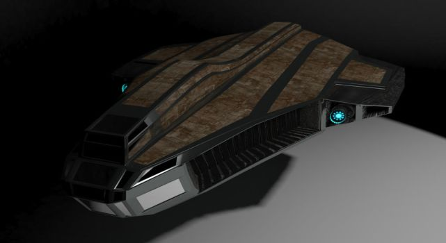 Just an other normal looking spaceship by DayPie