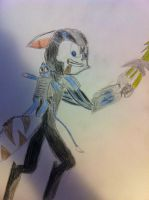 Mace and Whip as Ratchet and Clank by ezioauditore97