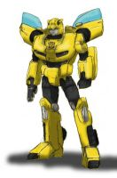 Movie Bumblebee, G1-ized by EmeraldBeacon
