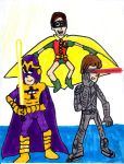 Bibleman, Cyclops, and Robin by SonicClone