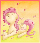 Fluttershy's Blossom Song by Meemie7