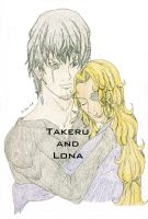 TakeruXLona N Color by HieiSQueen