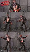 ZOMBIE ATTACK Biker Zombie by Jin-Saotome