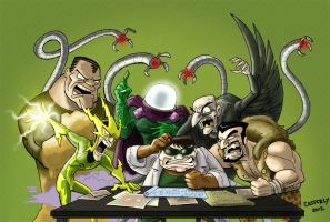 Sinister Six by DadaHyena