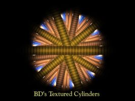 BDs Textured Cylinders by Fractal-Resources