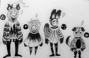 CLOSED! Monochrome Mocchin Adopts! by Ballistic-B