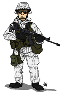 Finnish Army Jaeger by darthpandanl