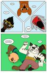 Kung Fu Panda: The New Five page 7 by bico-kun