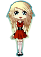 Liylie Chibi Commission by MakeMeButterfly