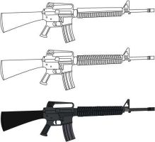 M16 progression by GrandVizierOlaf