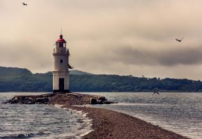 Vladivostok lighthouse by Preep