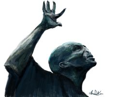 Voldemort Speed Painting by ChangesHappen