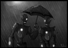 Robotic Romance by Spikings