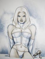 Emma Frost, White Queen by RichardCox