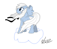 RollingBubblesFan Vector Commission 2/3 by PonyRave