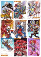 KidKaida 9 Card Set by kevinesque