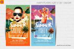 Summer Madness Party Flyer by satgur