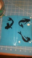 Mermaid duct tape wallet by Fairygirl1031