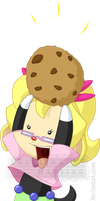 Got a cookie! by Angi-Shy