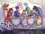 Ava's Tea Party by La-Chapeliere-Folle